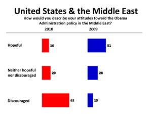 Arab's opinion of USA 2010